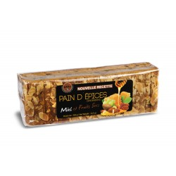 Pain d'épices fruits secs et miel (25%)